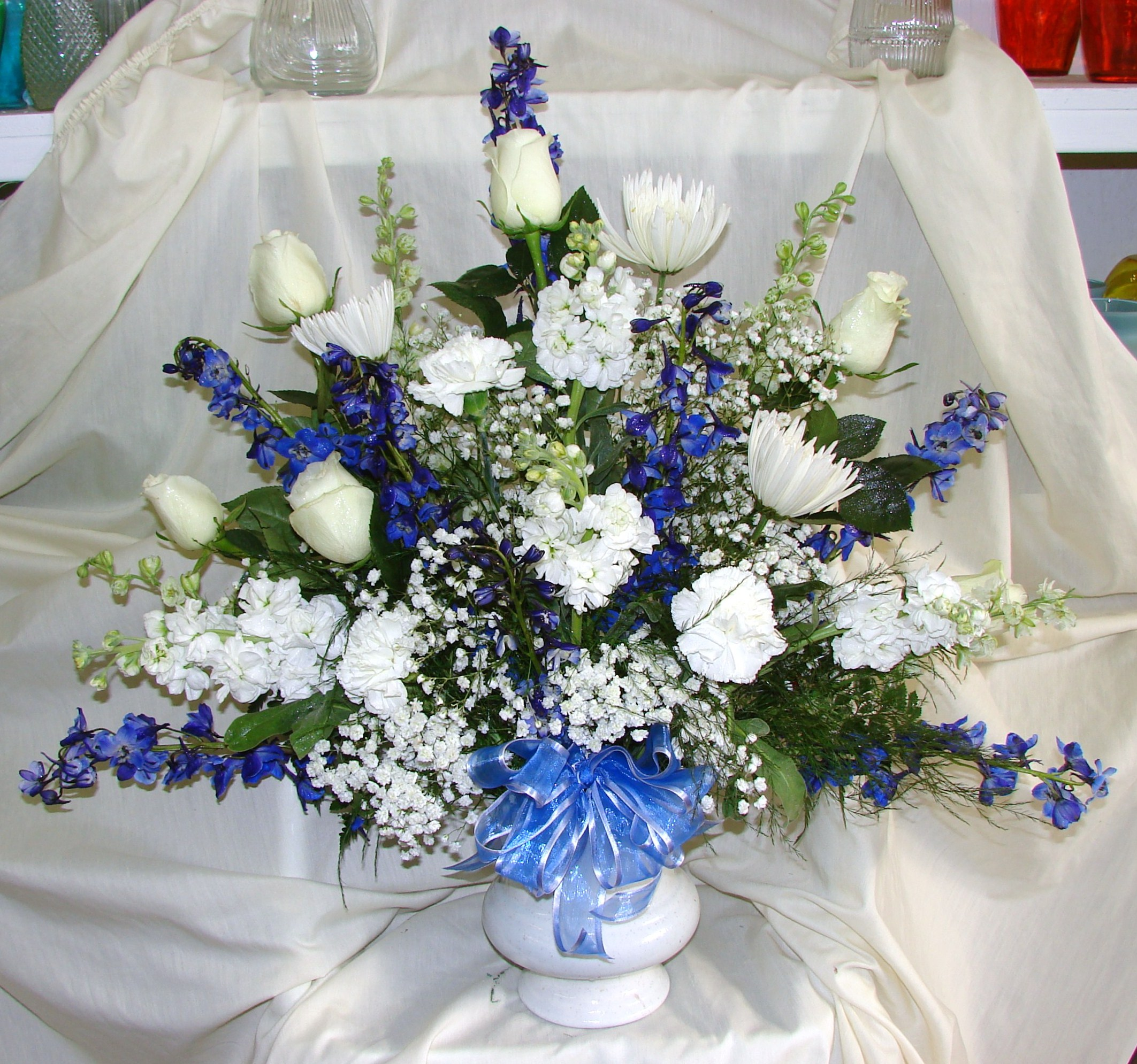 Sympathy In Blue White Williams Fresh Floral