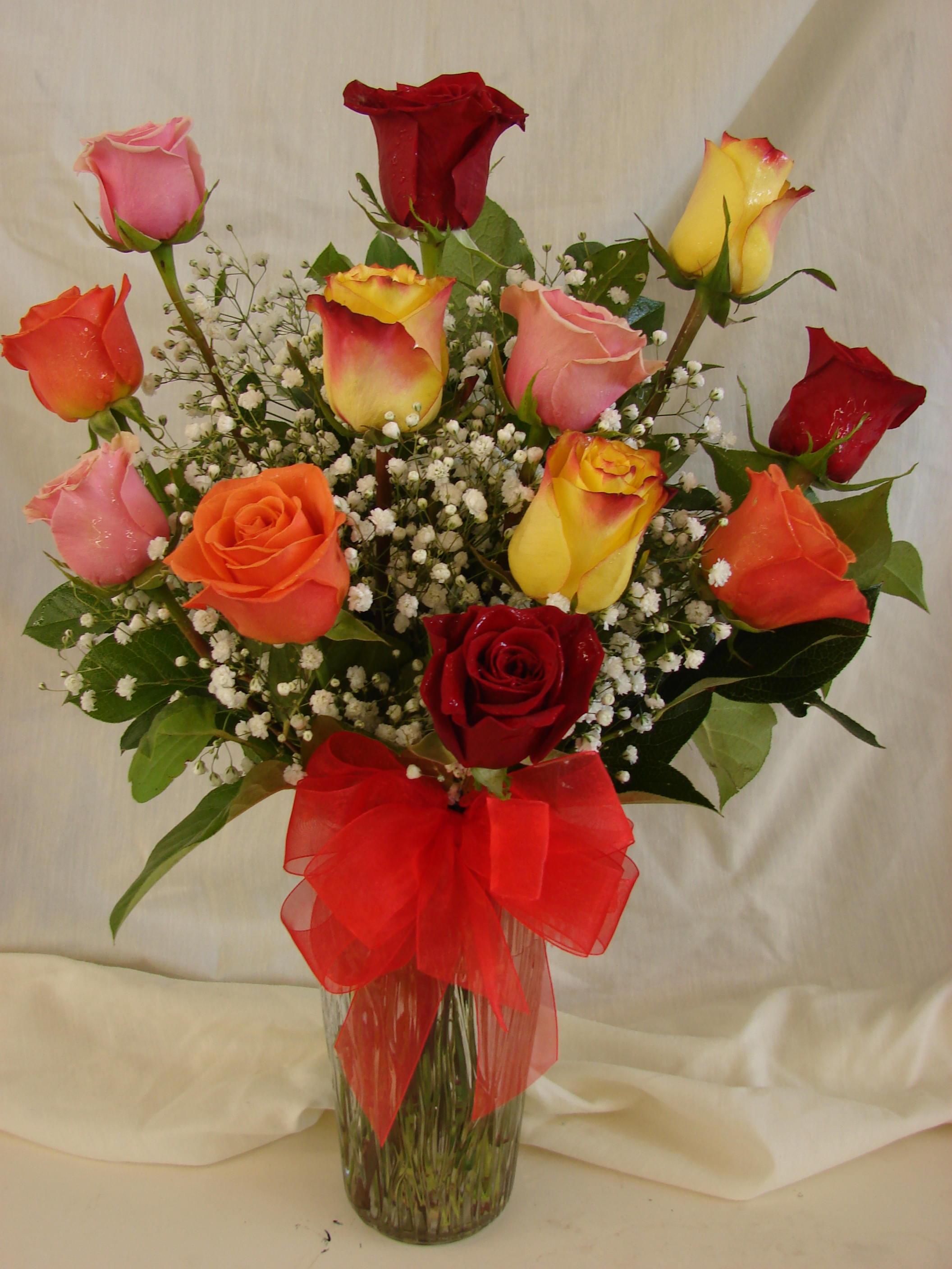 dozen roses williams fresh floral