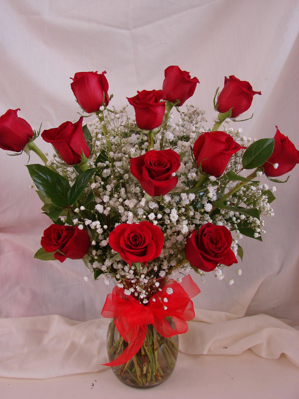 dozen red roses williams fresh floral